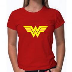 PRODUTO TESTE - Camiseta Mulher Maravilha - Vermelha - PODE EXCLUIR